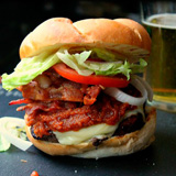 Weird (but tasty) burger recipe
