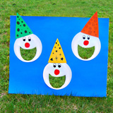 Create an outdoor carnival for kids