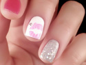 Lacquered love: Sweet lips nail art