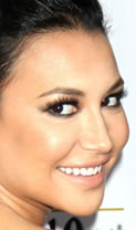 Naya Rivera's GLAAD Awards makeup »