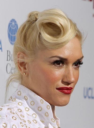 Gwen Stefani - Updo hairstyle