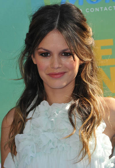 Rachel Bilson Fashion Style Guide on Rachel Bilson S Half Up Do   Celebrity Hairstyles