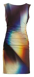 Modern print dress