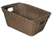Wicker bins