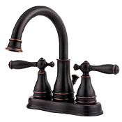 Tuscan Bronze Bathroom Sink Faucet