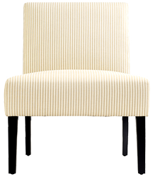 Simple accent chairs