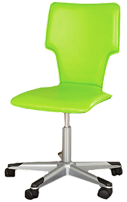 Green desk chair