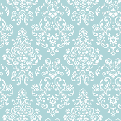 Turquoise and White Wallpaper