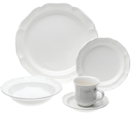 White dishware