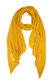Mustard scarf
