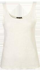 Scallop Frill Lace Vest