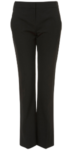 Slim black pants