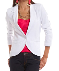 White blazer