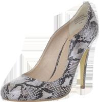 Snake-skin heels