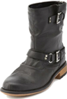 Zip-Back Motorcycle Boot