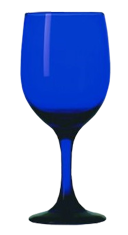 Blue Glassware