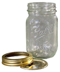 Ball Mason Jar, Pint