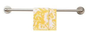Yellow and White Parnavi Towel