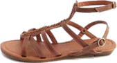 Strappy Gladiator Wedge Sandal