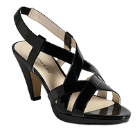 Strappy slingbacks