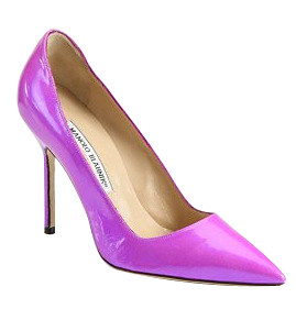 Pretty pointed pumps