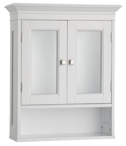 Fieldcrest Wall Cabinet, White