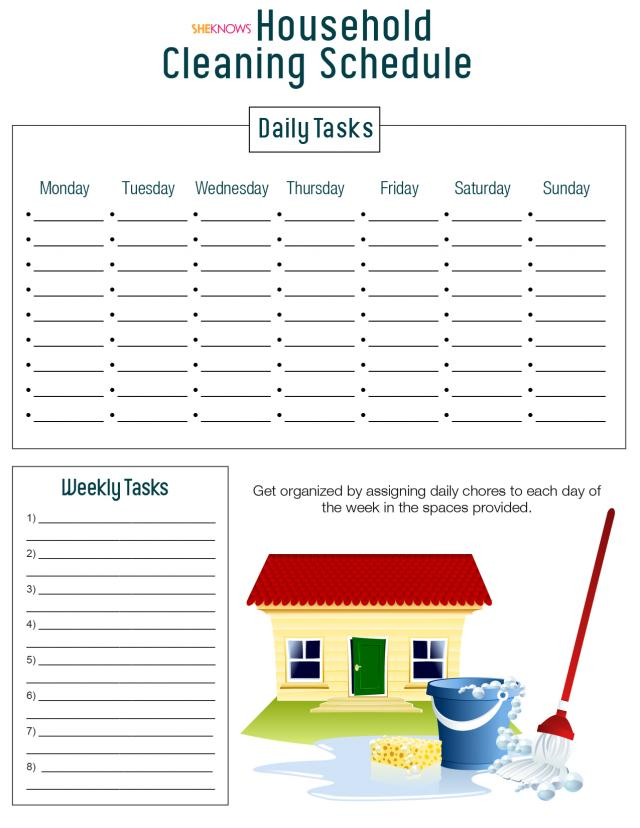 Printable Charts amp Logs House