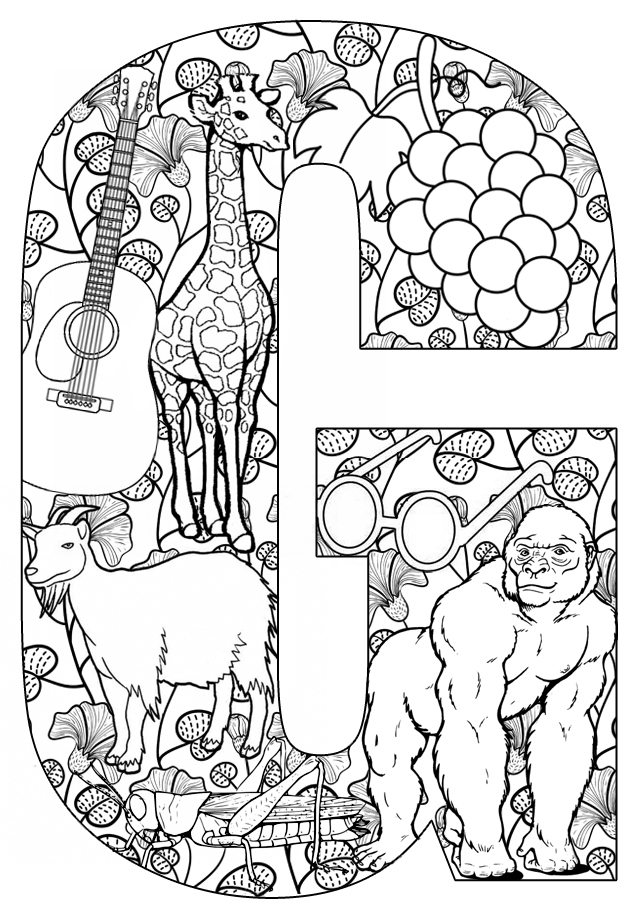 Free Coloring Pages Of Things That Start With W