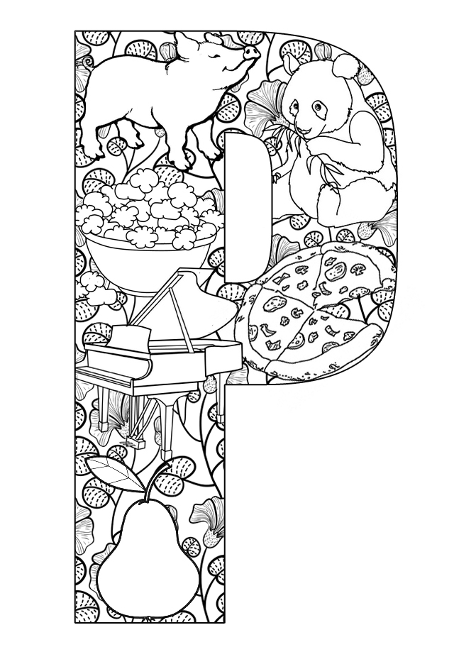 p i p coloring pages - photo #43