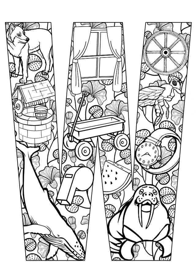 r a w coloring pages - photo #44