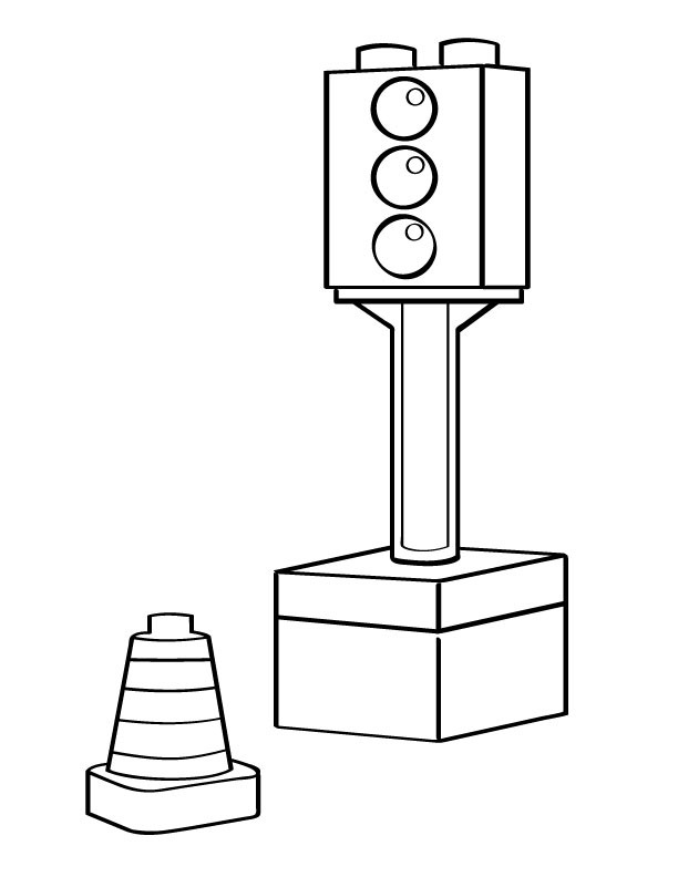 safety town coloring pages - photo #36