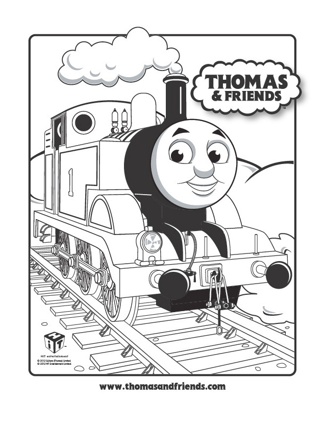 graphic regarding Thomas the Train Printable Coloring Pages identified as Thomas The Educate Straightforward Coloring Webpages Coloring Internet pages Galleries