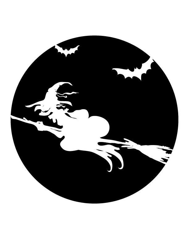 witch free printable coloring pages