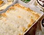 Creamy chicken and cheese enchiladas 