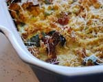 Bacon and blue cheese potato casserole