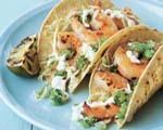 Herradura shrimp tacos