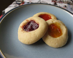 Jelly-Filled Thumbprint Cookies