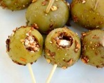 Spicy Greek stuffed olives