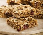 Caramel Date Bars with Cranberries and Walnuts