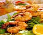 Quick Broiled Shrimp