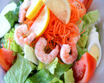Asian Shrimp Salad with Creamy Citrus Dressing