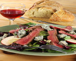 Grilled Curry Steak Salad with Creamy Currant Dressing