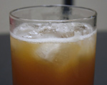 Allspice Dram and Rum Cocktail