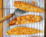Almond and Parmesan-Crusted Sole