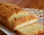 Almond Crusted Pound Cake