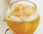 Apple Brandy Sour Cocktail