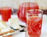 Apple Cider and Cranberry Punch