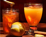 Apple Cider with Hot Scotch