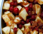 Apple and Cranberry Fruit Dessert