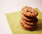 Apple Cranberry Raisin Cookies